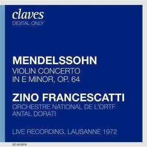 Bild für 'Francescatti : Mendelssohn'