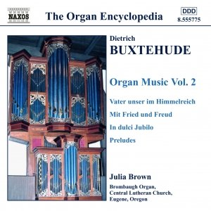 Image for 'BUXTEHUDE: Organ Music, Vol.  2'