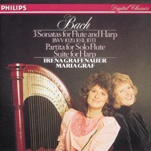 Image for 'Bach, J.S.: Sonatas & Partitas for flute & harp'