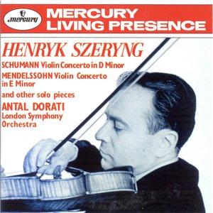 Immagine per 'Schumann: Violin Concerto / Mendelssohn: Violin Concerto in E minor etc.'