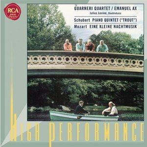"""Image for 'Schubert: Piano Quintet (""""Trout""""); Mozart: Eine kleine Nachtmusik'"""