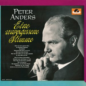 Image for 'Peter Anders - eine unvergessene Stimme'