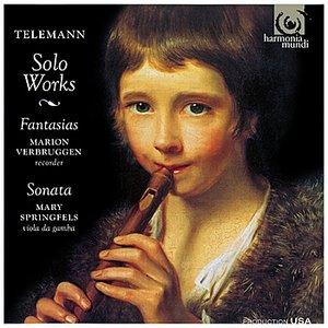 Bild för 'Telemann: Fantasias & Sonata'