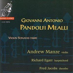 Image for 'G.A Pandolfi Mealli: Violin Sonatas'