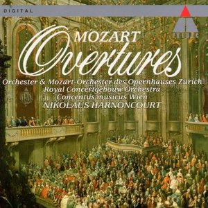 Image for 'MOZART: Overtures'