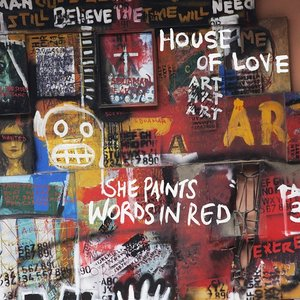 Image for 'She Paints Words In Red'