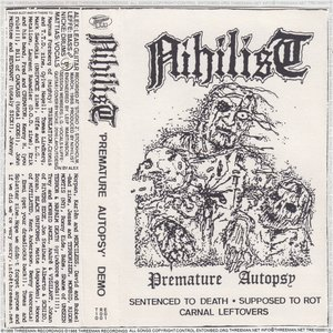 Image for 'Premature Autopsy (Demo 1988) [Remastered 2016]'