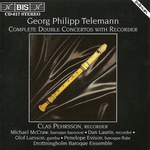 Image for 'Telemann: Complete Double Concertos With Recorder'
