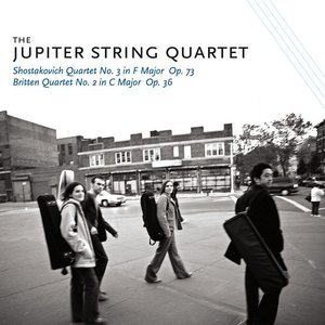 Image for 'Britten and Shostakovich Quartets'