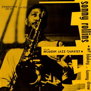 Immagine per 'Sonny Rollins With The Modern Jazz Quartet'