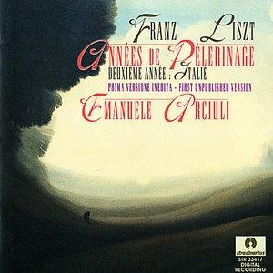 Image for 'Franz Liszt: Années de Pèlerinage - Deuxième Année: Italie'