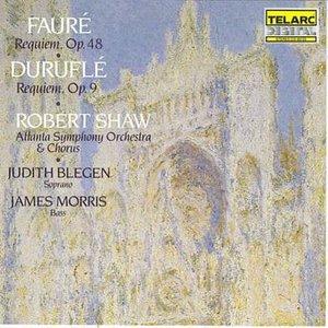 Image for 'Fauré: Requiem, Op. 48 / Duruflé: Requiem, Op. 9 (Atlanta Symphony Orchestra & Chorus feat. conductor: Robert Shaw)'
