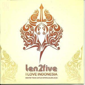 """I Love Indonesia""的封面"