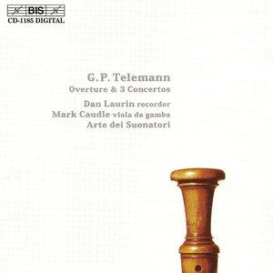Image for 'Telemann: Overture / 3 Recorder Concertos'