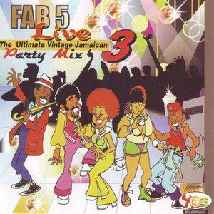 Immagine per 'Fab 5 Live - Party Mix Vol. 3'