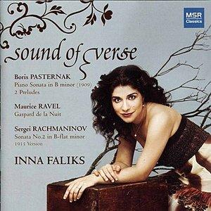 Immagine per 'Sound of Verse - Piano Music of Pasternak, Ravel & Rachmaninov'