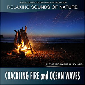 Image for 'Crackling Fire and Ocean Waves: Relaxing Sounds of Nature'