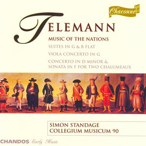 """Image for 'Telemann: Suite in G Major, """"Les Nations Anciennes Et Modernes"""" / Viola Concerto in G Major'"""