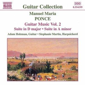 Bild för 'Ponce: Guitar Music, Vol.  2'