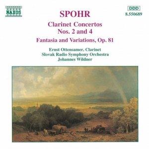 Image for 'SPOHR: Clarinet Concertos Nos. 2 and 4 / Fantasia, Op. 81'