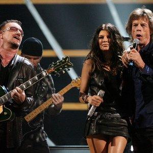 Immagine per 'U2, Mick Jagger, Fergie & Will.I.am'