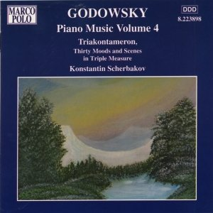 Image for 'GODOWSKY: Triakontameron: 30 Moods and Scenes in Triple Measure'
