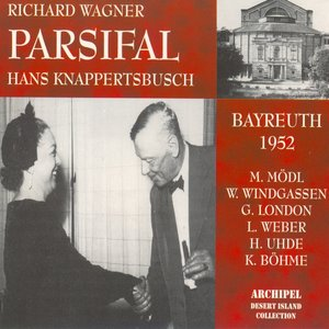 Image for 'Wagner : Parsifal (Bayreuth 1952)'