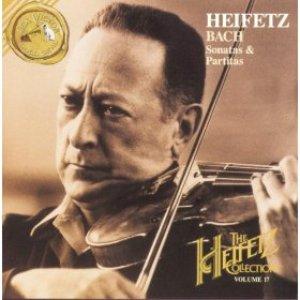 Immagine per 'The Heifetz Collection; Volume 17; Bach: Sonatas & Partitas'