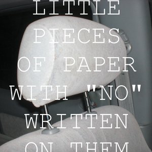 """Image for 'Little Pieces Of Paper With """"No"""" Written On Them'"""