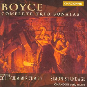 Image for 'Boyce: Trio Sonatas Nos. 1-12'