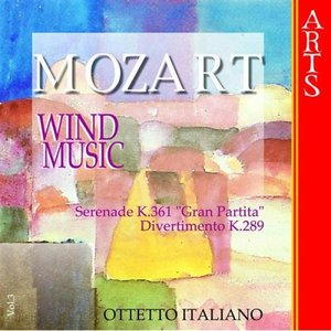 Image for 'W.A. Mozart: Music for Wind Musics - Vol. 3'