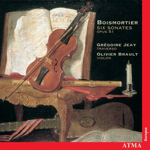 Image for 'Boismortier: Sonatas for Flute and Violin, Op. 51, Nos. 1-6'