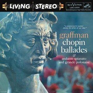 Image for 'Chopin: Ballades No. 1, Op. 23; No. 2, Op. 38; No. 3, Op. 47; No. 4, Op. 52; Andante Spianato and Grande Polonaise Brillante, Op. 22'