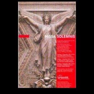 Image for 'Beethoven, Ludwig van : Missa Solemnis op. 123 (2001)'