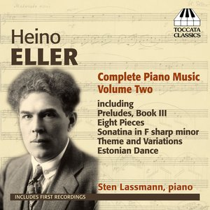 Image for 'Eller: Complete Piano Music, Vol. 2'