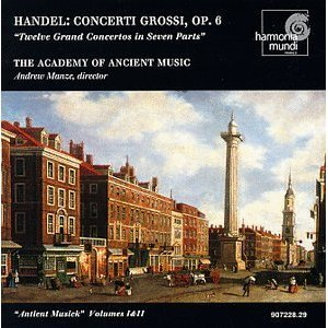 Bild för 'Concerti Grossi (The Academy of Ancient Music feat. conductor: Andrew Manze) (disc 1)'