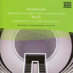 Image for 'Mendelssohn: Violin Concerto in E Minor / Bruch: Violin Concerto No. 1'