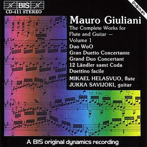 Image for 'GIULIANI: Complete works for Flute and Guitar, Vol. 1'