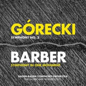 Imagen de 'Górecki: Symphony No. 3 - Barber: Symphony in One Movement - Penderecki: Song of Cherubim'