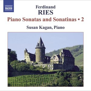 Image for 'Ries, F.: Piano Sonatas and Sonatinas (Complete), Vol. 2  - Opp. 1, 5'