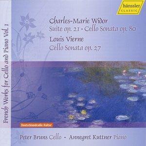 Image for 'Widor, C.-M.: Cello Sonata / 3 Pieces / Vierne, L.: Cello Sonata (Bruns) (French Works for Cello and Piano, Vol. 1)'
