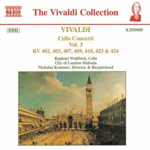 Image for 'VIVALDI: Cello Concertos, Vol.  3'