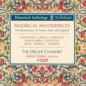 Image for 'Madrigal Masterpieces'