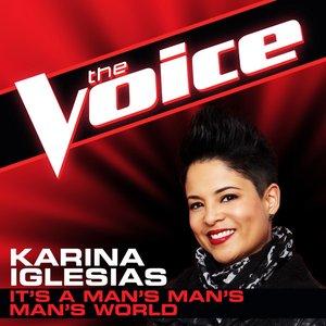 Image for 'It's a Man's Man's Man's World (The Voice Performance) - Single'