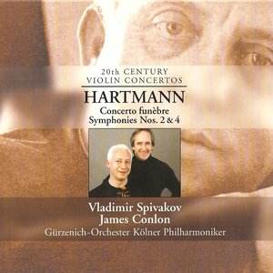 Image for 'Hartmann, K.A.: Concerto Funebre / Symphonies Nos. 2 and 4'