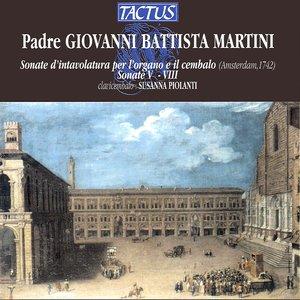 Image for 'Martini: Sonate d'intavolatura per l'organo e il cembalo - Sonate V-VIII'