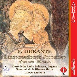 Bild för 'Durante: Lamentationes Jeremiae Prophetae - Vespro Breve'
