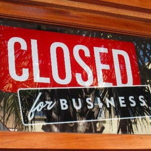 Image for 'Closed for business'