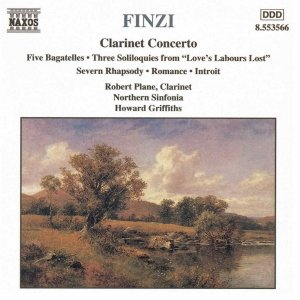 Image for 'FINZI: Clarinet Concerto / Five Bagatelles / Three Soliloquies / Romance'