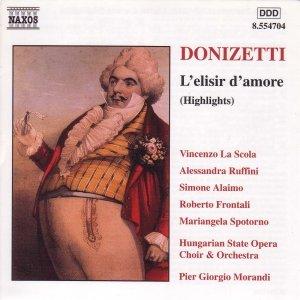 Imagen de 'DONIZETTI: Elisir d'amore (L') (Highlights)'